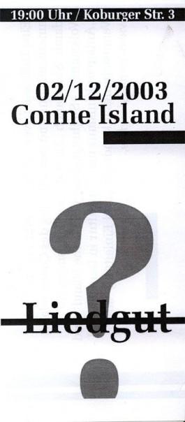 25YRS CONNE ISLAND 2003